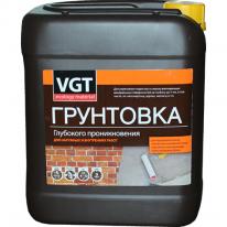 Грунт глубокопроникающий акриловый для наружных и внутренних работ VGT 5 кг