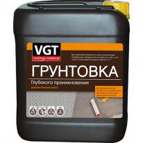 Грунт глубокопроникающий для внутренних работ VGT 5 кг