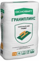 Клей плиточный для керамогранита и натурального камня ОСНОВИТ ГРАНИПЛИКС Т-14, 25 кг