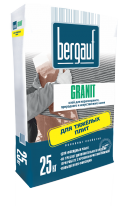 Клей для природного камня и керамогранита Bergauf Granit, 25 кг
