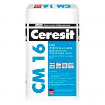Клей эластичный для плитки CERESIT СМ 16, 25 кг