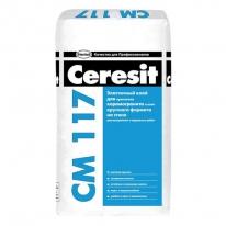 Клей для плитки эластичный универсальный CERESIT СМ 117, 25 кг