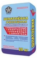 Шпаклевка финишная на цементной основе для наружных и внутренних работ РУСЕАН, 20 кг