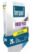 Шпаклевка финишная на полимерной основе для стен и потолков Bergauf Finish Plast, 20 кг