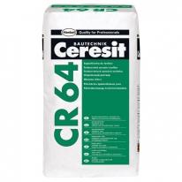 Шпаклевка финишная высокопаро-проницаемая CERESIT CR 64, 25 кг