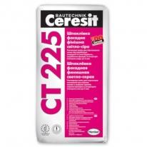Шпаклевка цементная финишная для наружных и внутренних работ CERESIT CT 225 серая, 25 кг