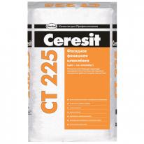 Шпаклевка цементная финишная для наружных и внутренних работ CERESIT CT 225 белая, 25 кг