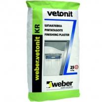Шпаклевка финишная Weber Vetonit KR, 25 кг