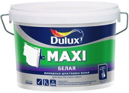 Шпатлёвка финишная Dulux Maxi 2,5 л белый