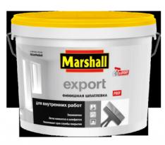 Шпатлевка финишная для внутренних работ Marshall Export 10 л