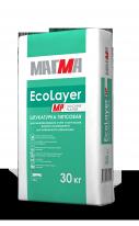 Штукатурка гипсовая МАГМА EcoLayer MP, 30 кг