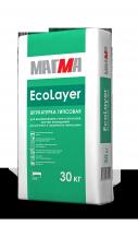 Штукатурка гипсовая МАГМА EcoLayer, 30 кг