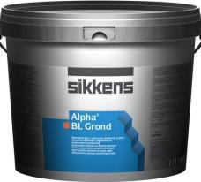 Грунт матовый для декоративных матерьялов изолирующий Sikkens Alpha BL Grond 10 л