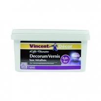 Лак полуматовый защитный Vincent Decor Decorum Vernis 0,8 л