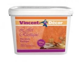 Эффекты стен старинных домов Vincent Decor Decorum Rustique 5 кг