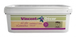 Покрытие флоковое Vincent Decor Luminance Colori 8 кг (№10)