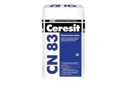 Смесь для быстрого ремонта бетона (от 5 до 35 мм) CERESIT CN 83, 25 кг