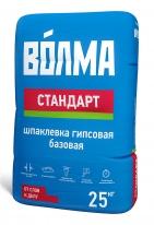 Шпаклевка базовая гипсовая ВОЛМА-Стандарт, 25 кг
