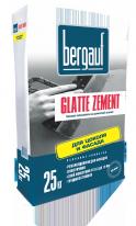Шпаклевка базовая цементная Bergauf Glatte Zement, 25 кг