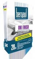 Шпаклевка базовая универсальная цементная Bergauf Uni Finish, 20 кг