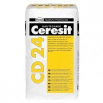 Шпаклевка для ремонта бетона и железобетона CERESIT CD 24 (толщина до 5 мм), 25 кг