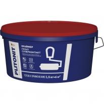 Праймер акрилатный для подготовки сложных поверхностей ПЛИТОНИТ Грунт Супер Контакт, 4,5 кг