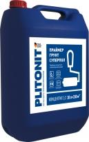 Праймер-концентрат высокопроникающий для напольных работ ПЛИТОНИТ Грунт СуперПол, 10 л