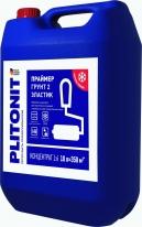 Праймер-концентрат акрилатный и добавка в сухие смеси ПЛИТОНИТ Грунт 2 Эластик, 10 л