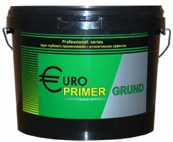 Грунт ГЕРМЕС EUROPRIMER для внутренних и наружных работ, 10 л