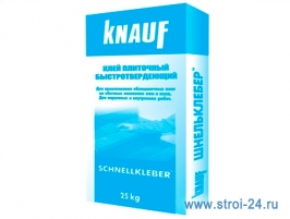 Клей для плитки КНАУФ Шнельклебер, 25 кг