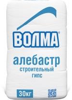Алебастр гипс строительный ВОЛМА, 30 кг