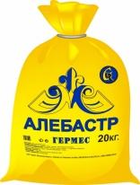 Алебастр гипс строительный ГЕРМЕС, 20 кг