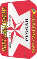Портландцемент ЦЕМ 42,5 H РУСЕАН М 500 Д0, 50 кг