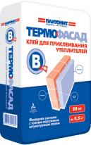 Клей для приклеивания утеплителей ПЛИТОНИТ-ТермоФасад В-тф, 25 кг