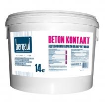 Грунтовка адгезионная акриловая Bergauf BETON KONTAKT, 14 кг