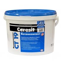 Грунтовка-бетонконтакт морозостойкая CERESIT CT 19, 15 кг