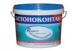 Грунт Бетоноконтакт ГЕРМЕС RESPECT универсальный, 20 кг