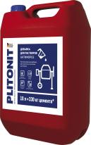 Добавка противоморозная для цементно-песчаных растворов ПЛИТОНИТ-АКТИВ АнтиМороз, 10 л