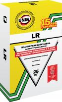 Шпаклевка полимерная ЮНИС LR, 25 кг