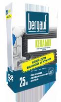 Клей для керамической и кафельной плитки Bergauf Keramik, 25 кг