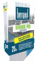 Клей усиленный для керамической плитки Bergauf Keramik Pro, 25 кг