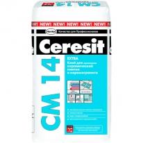 Клей для плитки и керамогранита CERESIT CМ 14 Extra, 25 кг