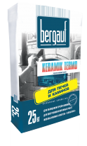Клей для облицовки печей и каминов Bergauf Keramik Termo, 25 кг