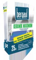 Клей для всех видов плитки и сложных оснований Bergauf Keramik Maximum, 25 кг