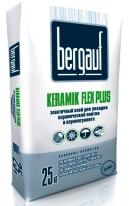 Клей эластичный для керамической плитки Bergauf Keramik Flex Plus, 25 кг