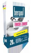 Шпаклевка белая цементная для внутренних и наружных работ Bergauf Finish Zement, 20 кг