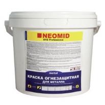 Краска для металла, огнезащитная Neomid 60 кг белый
