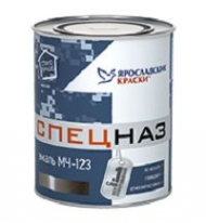 Краска для метала Ярославские Краски МЧ-123 Спецназ 1,8 кг черная