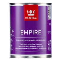 Краска для мебели Tikkurila Empire 0,9 л (база А)