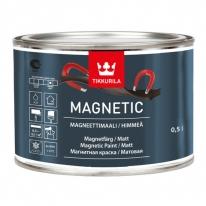 Краска специальная для придания поверхности магнитного эффекта Tikkurila Magnetic 0,5 л